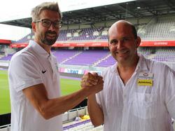 René Glatzer (l.) und Ralf Muhr: Beide wurden von der Austria befördert. © FK Austria Wien