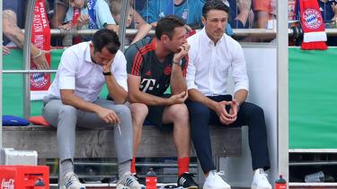 Niko Kovac unzufrieden mit Auftritt des FC Bayern München