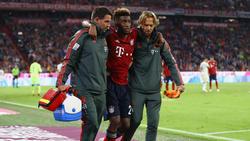 El francés se lesionó a raíz de una entrada del un rival del Hoffenheim. (Foto: Getty)