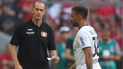 Karim Bellarabi (r.) wurde nach vom DFB für vier Spiele aus dem Verkehr gezogen