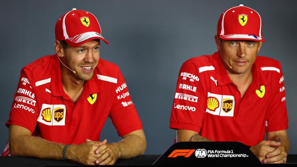 Die Wege von Sebastian Vettel und Kimi Räikkönen werden sich trennen