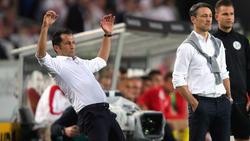 Hasan Salihamidzic (li.) ist der Sportdirektor des FC Bayern München
