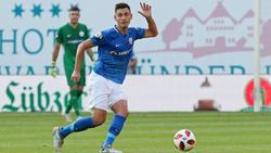 Hansa gewann knapp mit 1:0 in Halle