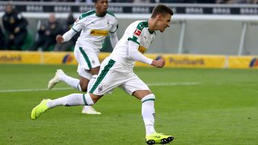 Thorgan Hazard brilló este fin de semana con un doblete en la Bundesliga. (Foto: Getty)