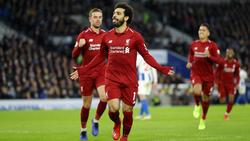 Salah volvió a acudir puntual a su cita con el gol. (Foto: Getty)