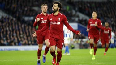 Matchwinner für die Reds: Mohamed Salah