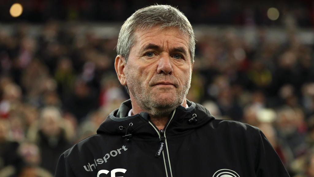 Friedhelm Funkel verlässt Düsseldorf im Sommer 2019
