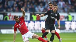 Der 1. FSV Mainz 05 besiegte Eintracht Frankfurt