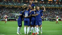 Chelsea gewinnt Europa-League-Finale gegen Arsenal
