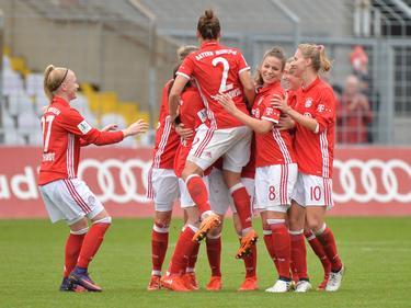 Die Frauen von Bayern München wollen in der CL jubeln