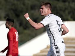 Florian Baak rückt bei der Hertha zu den Profis auf