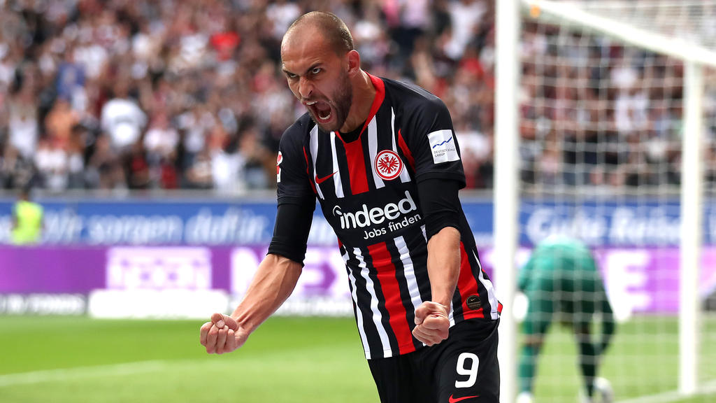 Bas Dost will mit Eintracht Frankfurt in dieser Saison viel erreichen