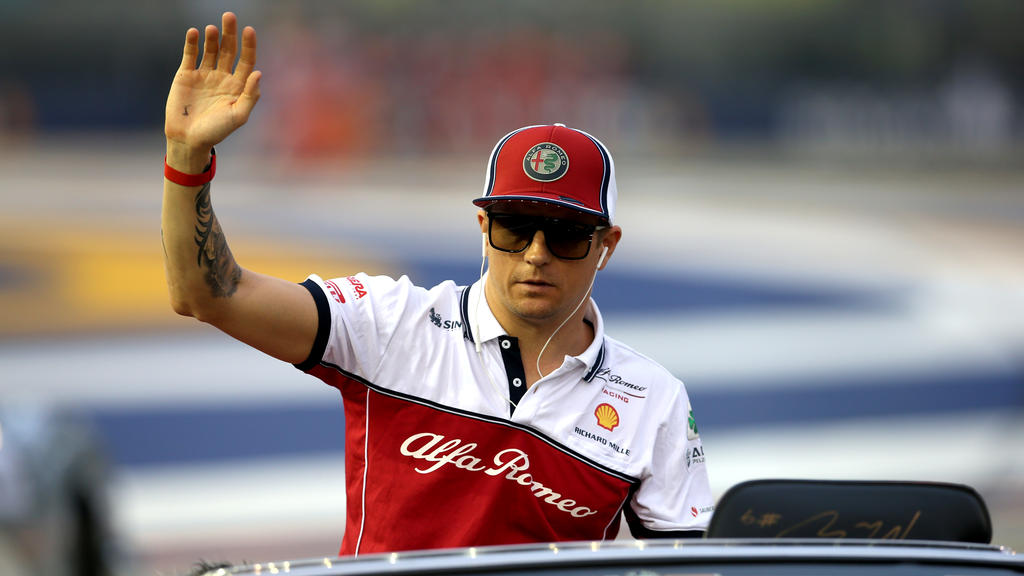 Kimi Räikkönen ist mit 40 Jahren ältester Pilot der Formel 1