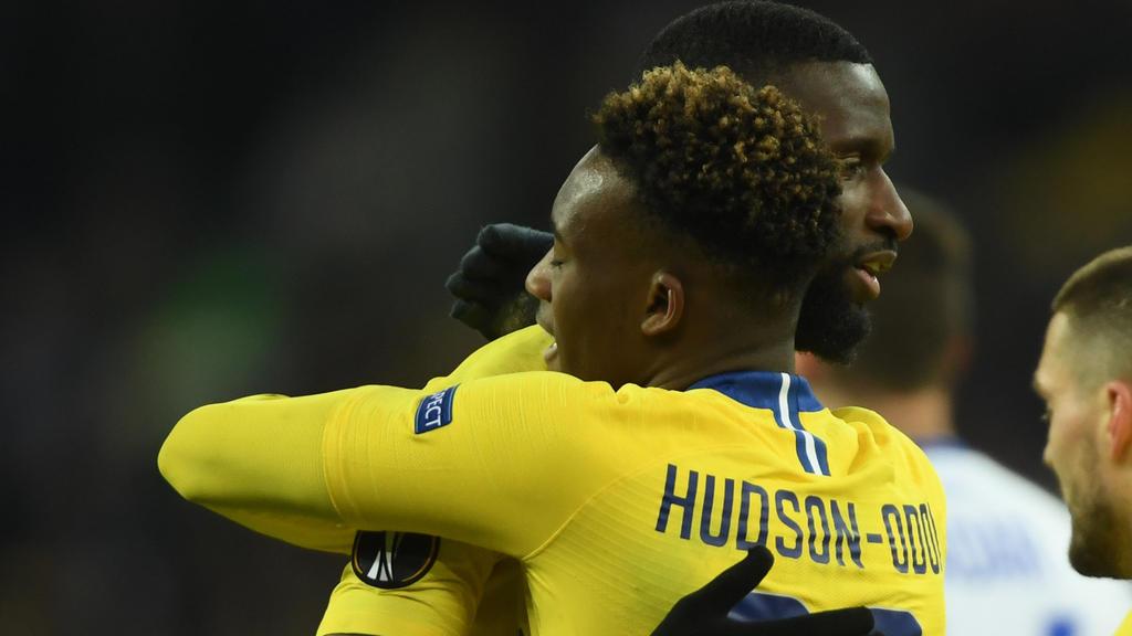 Sind gute Freunde beim FC Chelsea: Antonio Rüdiger und Callum Hudson-Odoi
