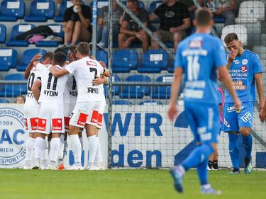 Ronivaldo glänzte als Doppel-Torschütze für Wacker Innsbruck