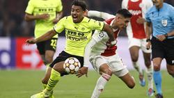 Gegen Ajax Amsterdam lief Donyell Malen (l.) erstmals wieder in seiner niederländischen Heimat auf