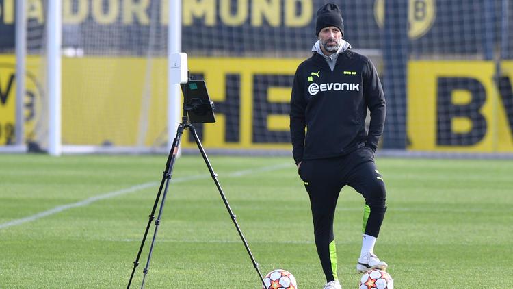 BVB-Coach Marco Rose muss sein Team im DFB-Pokal umbauen