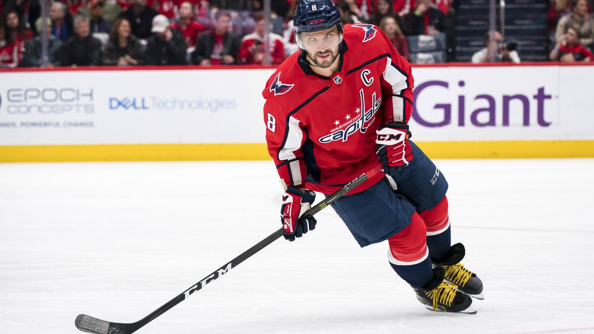 Capitals-Star Alexander Ovechkin jagt NHL-Legenden