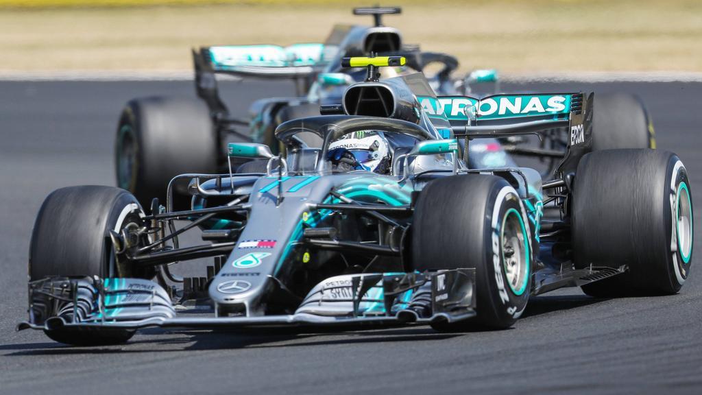Lewis Hamilton und Valtteri Bottas werden im alten W09 testen