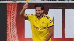 Dortmunds Emre Can war sich nach seinem Handspiel keiner Schuld bewusst