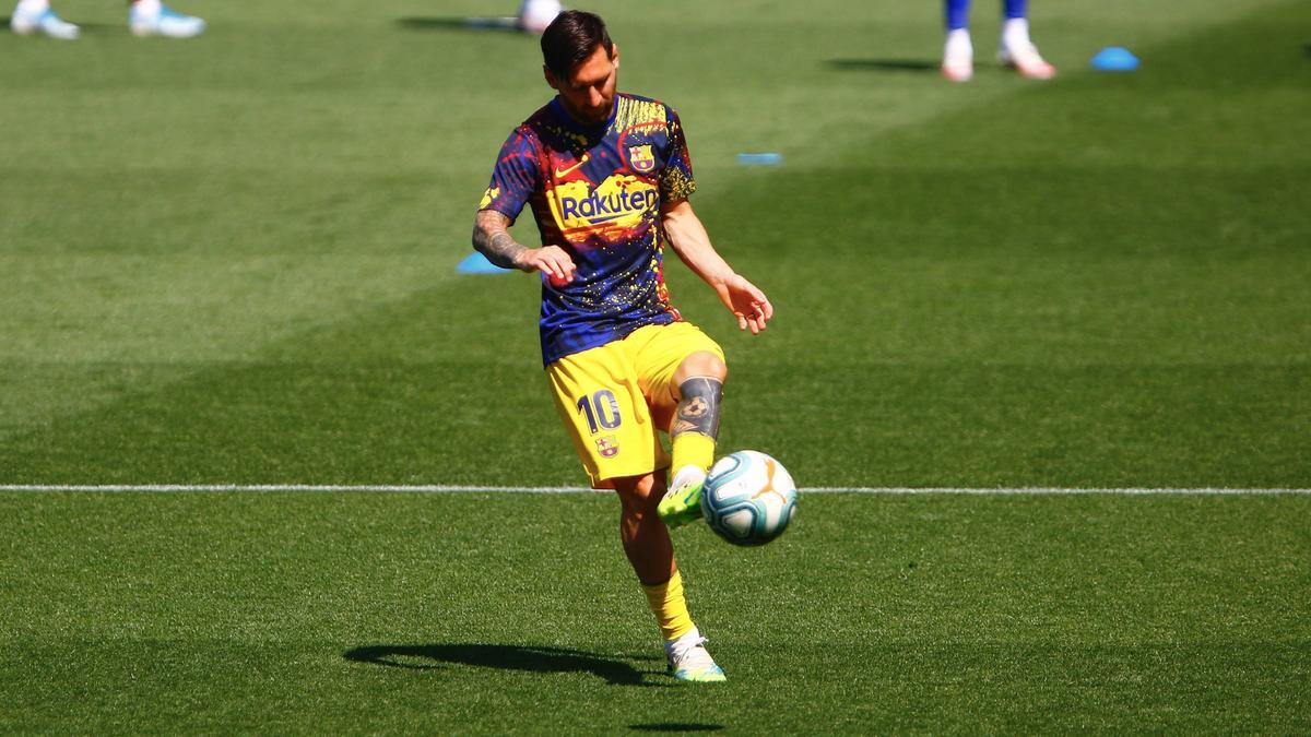 Lionel Messi hat einmal mehr Geschichte geschrieben