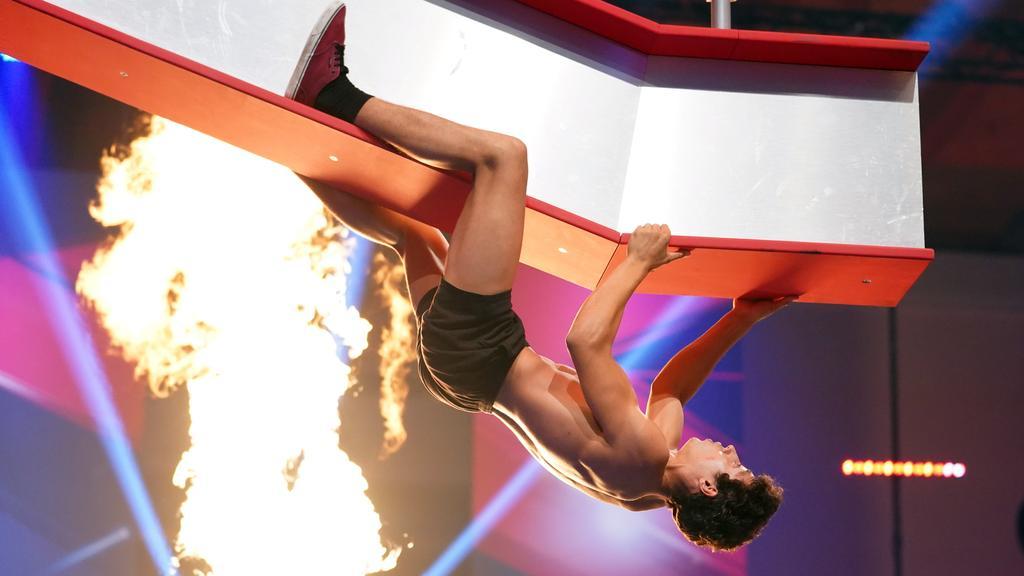 René Casselly will ins Finale bei Ninja Warrior 2018 einziehen