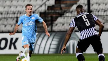 Mario Götze und die PSV Eindhoven erlitten einen Rückschlag