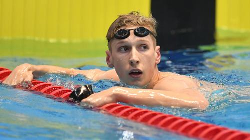 Deutsche Schwimm-Hoffnung für Olympia 2021: Florian Wellbrock