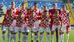 Imagen de archivo de la selección croata sub-17 en 2015.
