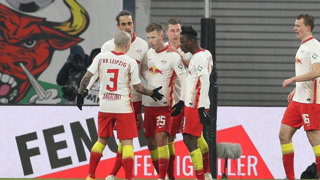 RB Leipzig bleibt dem FC Bayern auf den Fersen - sport.de
