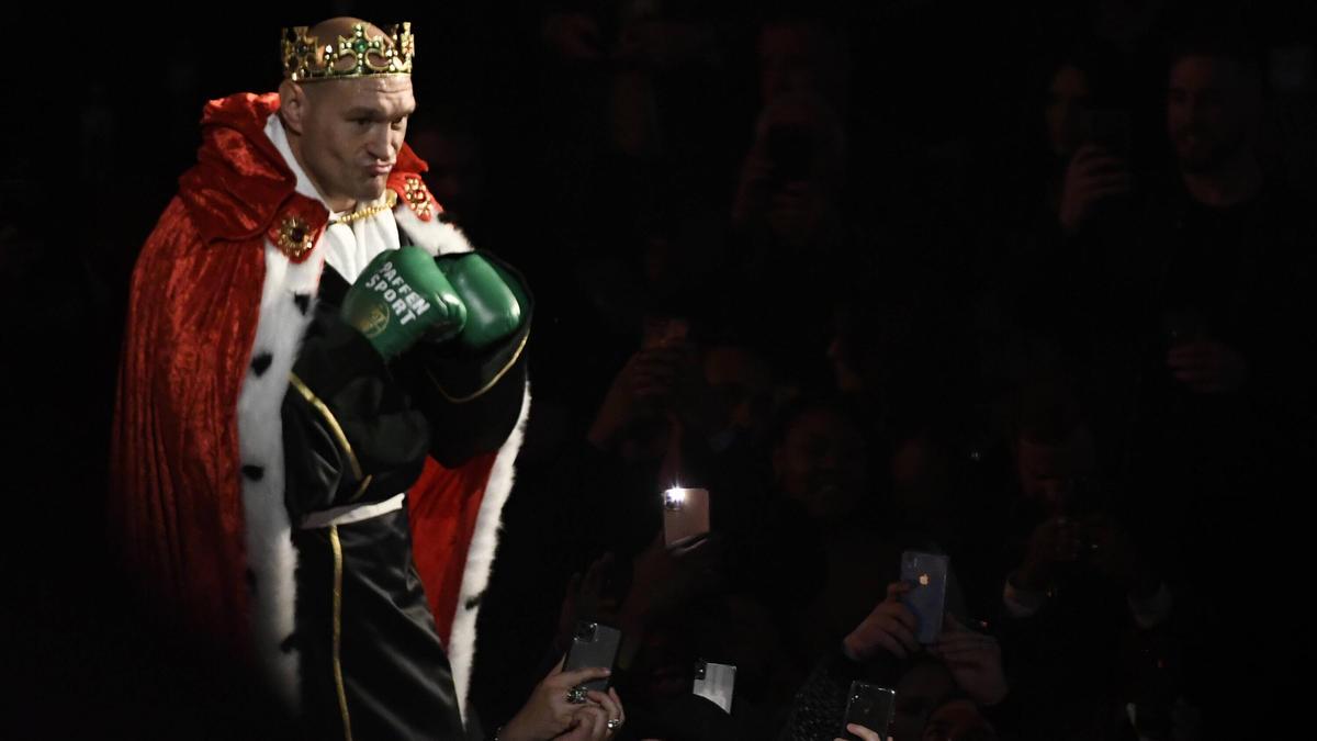Steigt Tyson Fury gegen Anthony Joshua in den Ring?