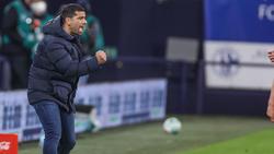 Dimitrios Grammozis im Spiel gegen Augsburg