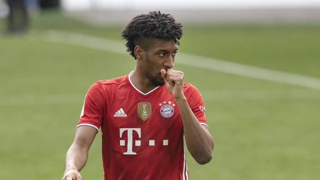 Bleibt Kingsley Coman beim FC Bayern?