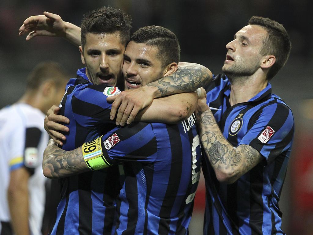 Jubel bei Inter über drei Punkte