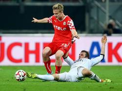Ben Halloran (l.) wechselt zum 1. FC Heidenheim