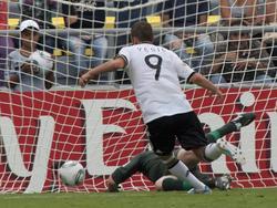 Samed Yeşil schießt die DFB-Junioren ins Halbfinale