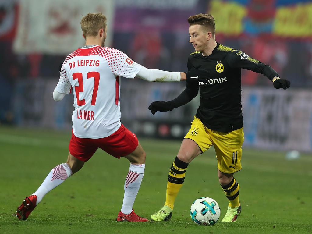 Reus (re.) erzielte den Ausgleich für den BVB