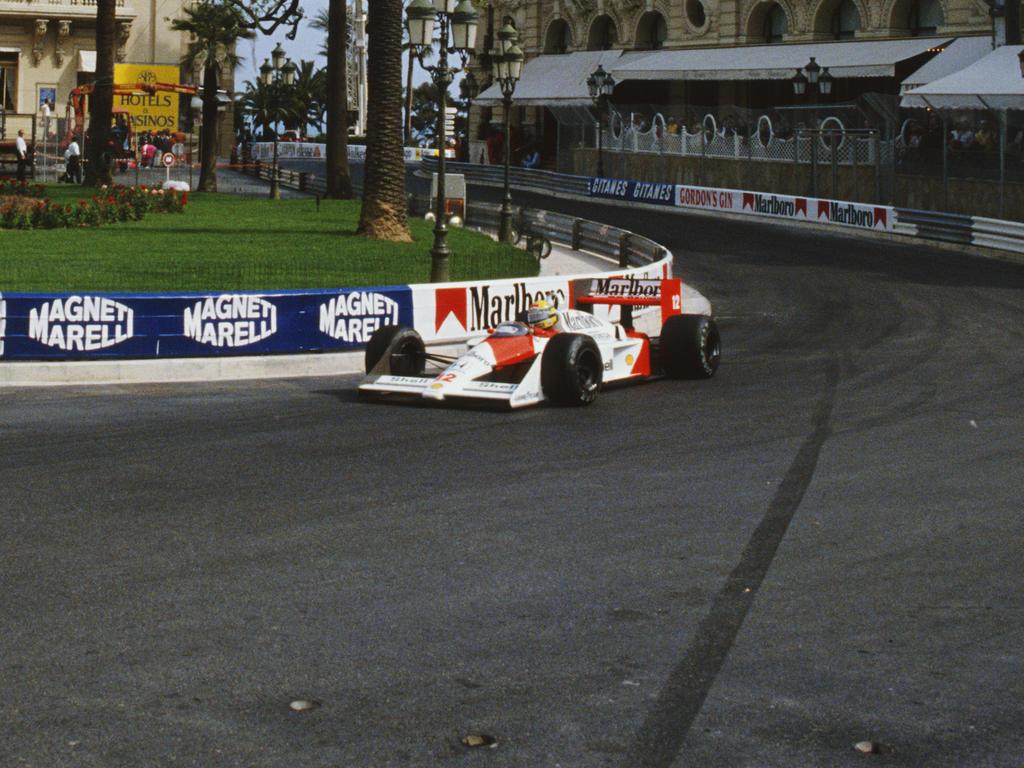 Ayrton Senna fuhr die Konkurrenz 1988 in Monaco in Grund und Boden