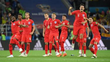 England konnte zum ersten Mal ein WM-Elfmeterschießen gewinnen