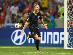 Rakitic anotó el penalti decisivo para Croacia. (Foto: Getty)