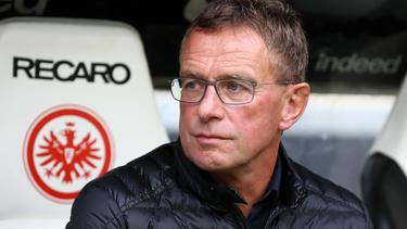 Ralf Rangnick ist mit der Leistung von RB Leipzig nicht unzufrieden