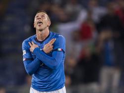 Federico Bernardeschi el que abrió el marcador para Italia. (Foto: Getty)