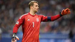 Manuel Neuer war nach der Niederlage merklich angefressen