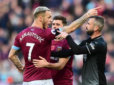 Marko Arnautović brachte West Ham gegen Burnley früh in Führung. © Getty Images/Alex Broadway