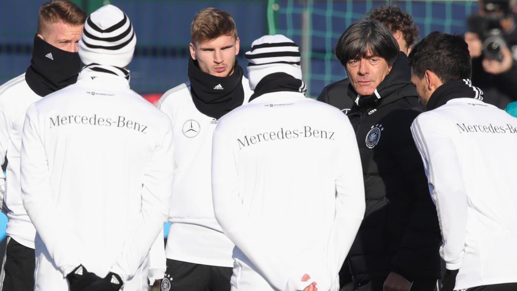 Joachim Löw startet mit der DFB-Elf in Wolfsburg ins Länderspieljahr