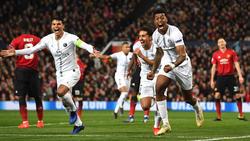 PSG durfte gegen United zweifach jubeln