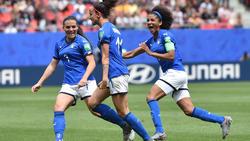 Italien feiert zum Auftakt einen überraschenden Sieg gegen Australien