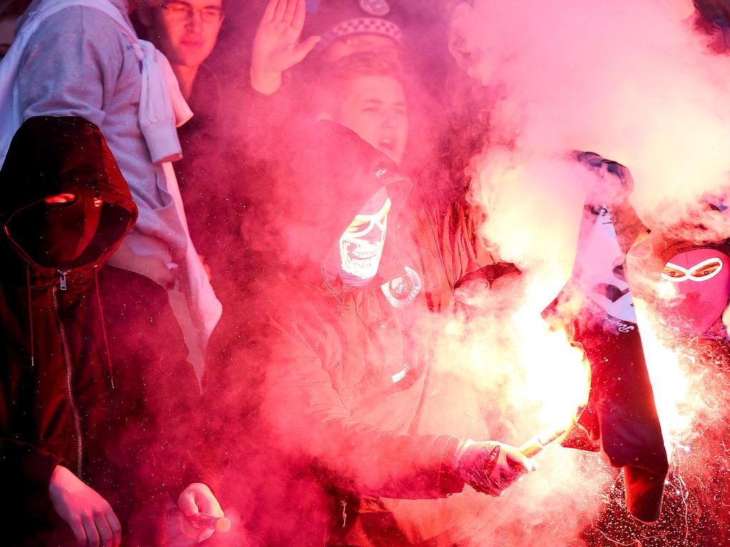 Die Vorfälle beim Wiener Derby wurden von der Bundesliga auf das Schärfste verurteilt