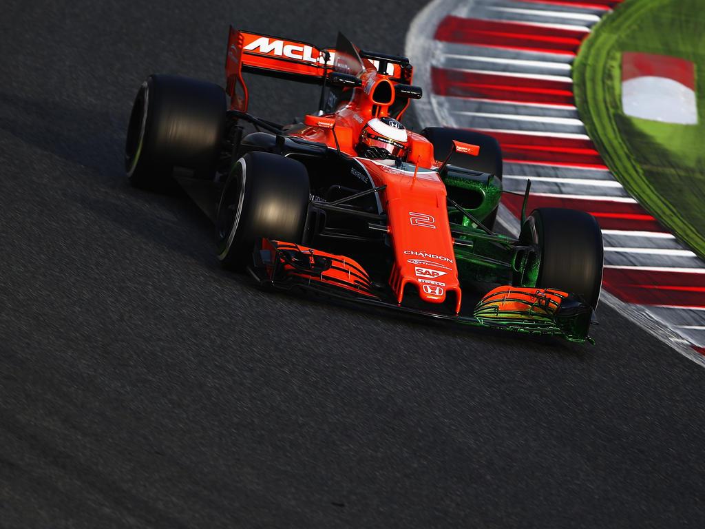 Die Haupt-Problemzone des neuen McLaren ist der neue Honda-Motor