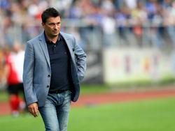 Christian Heidel war nach Schalkes Schlappe in Hannover bedient